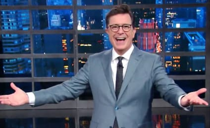 Stephen Colbert to Donald Trump: I Won!!!!