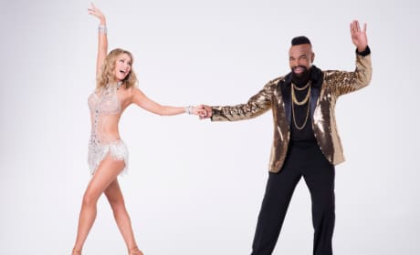Mr. T and Kym Johnson