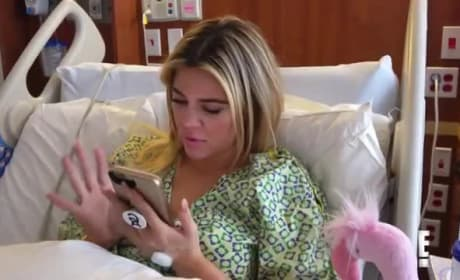 Khloe Kardashian Gives Birth on KUWTK, Reacts to Being Totally Screwed Over by Tristan Thompson