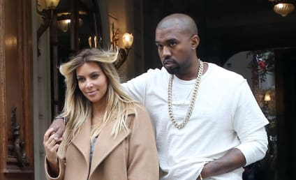 Kim Kardashian and Kanye West: Spotted in Paris!