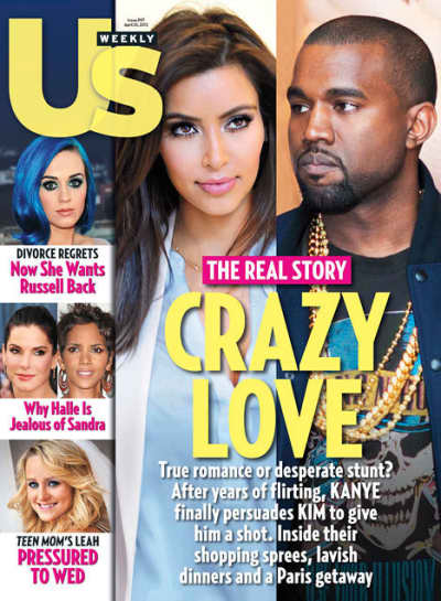 Kim Kardashian and Kanye West in Love!