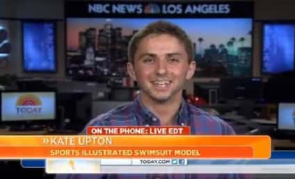 Jake Davidson, Kate Upton Prom Date, Floored By Today Show Phone Call