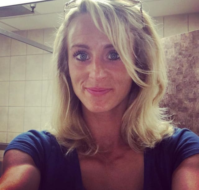 Leah messer spray tan pic