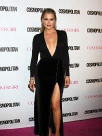 Khloe Kardashian: Cleavage on the Red Carpet