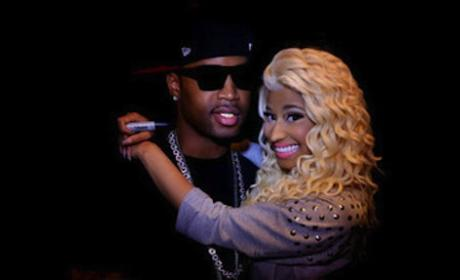 Safaree Samuels, Nicki Minaj Pic