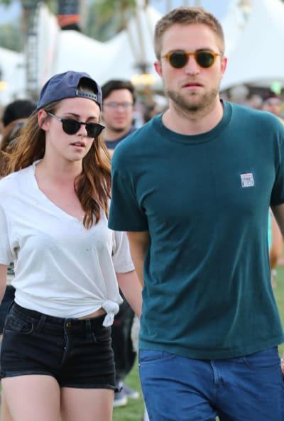Robert Pattinson, Kristen Stewart at Coachella