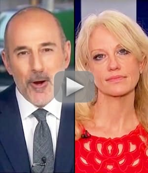 Matt lauer to kellyanne conway wth are you talking about