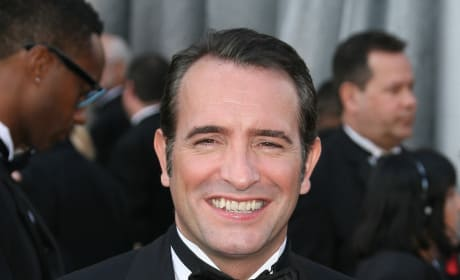 Jean Dujardin at the Oscars