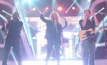 "Shakira, Usher, Adam Levine & Blake Shelton Perform ""Come Together"" on The Voice"