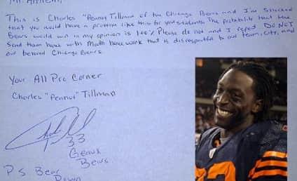 Charles Tillman, Chicago Bears Cornerback, Rips Teacher Over Disrespectful Math Question