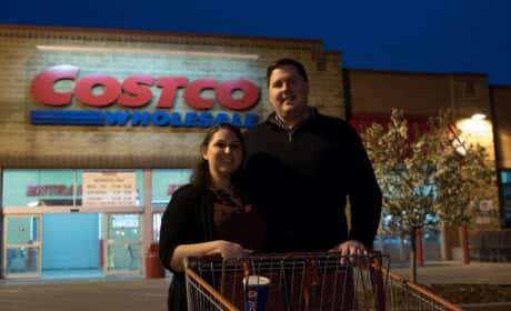 Awesome Couple Snaps Engagement Photos at Costco