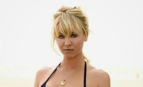 Kaley Cuoco, Black Bikini