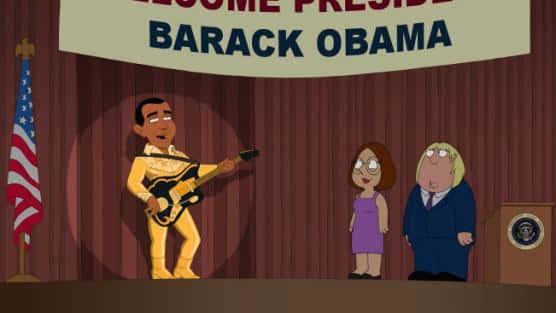 Obama on Family Guy