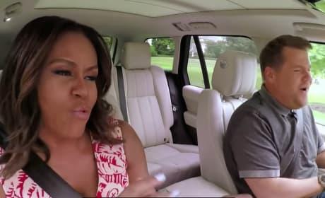 Michelle Obama Carpool Karaoke: WATCH NOW!
