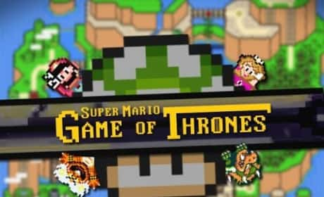 Game of Thrones-Mario Brothers Credits