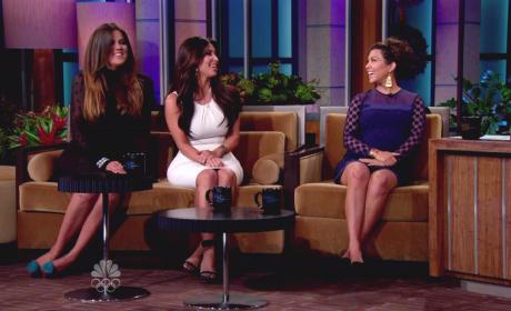 Khloe, Kim and Kourtney Kardashian