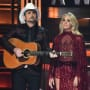 Carrie Underwood and Brad Paisley, 2017 CMAs