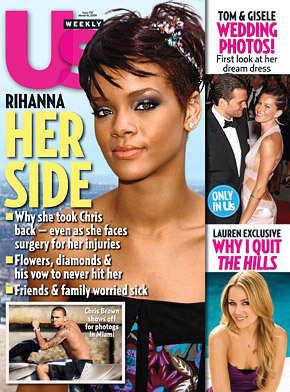 Rihanna Us Weekly Cover