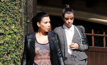 Kourtney Kardashian on Kim Touring with Baby: How Selfish!