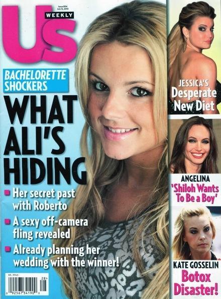 What's Ali Hiding?