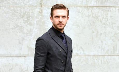 Dan Stevens: Milan Men's Fashion Week Fall/Winter 2016