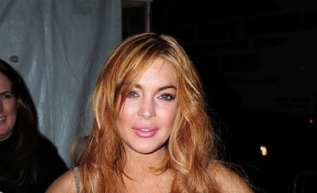 Lindsay Lohan Lips Photo