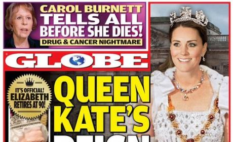 Kate Middleton Queen National Enquirer Pic