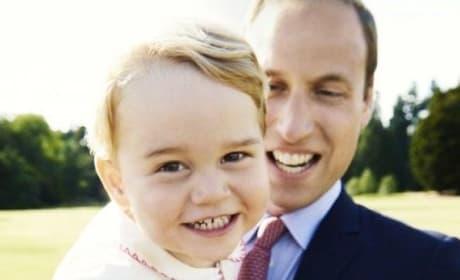 Prince George Birthday Photo!