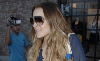 Lindsay Lohan is a Wrestling Fan