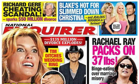 Faith Hill Tabloid Cover