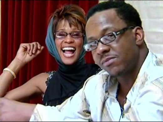 Bobby Brown and Whitney Houston Photo