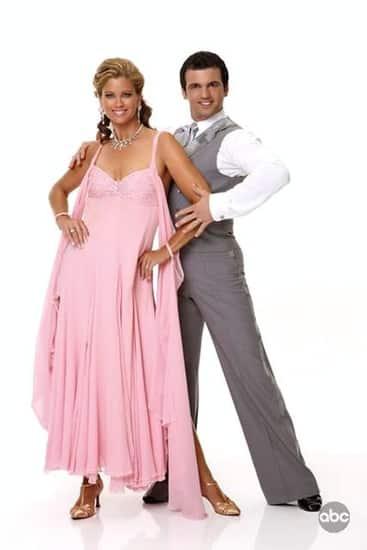 Kathy Ireland and Tony Dovolani