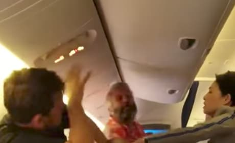 Nippon Airways Passengers Get Into All-Out BRAWL on Plane: You Gotta See This!!