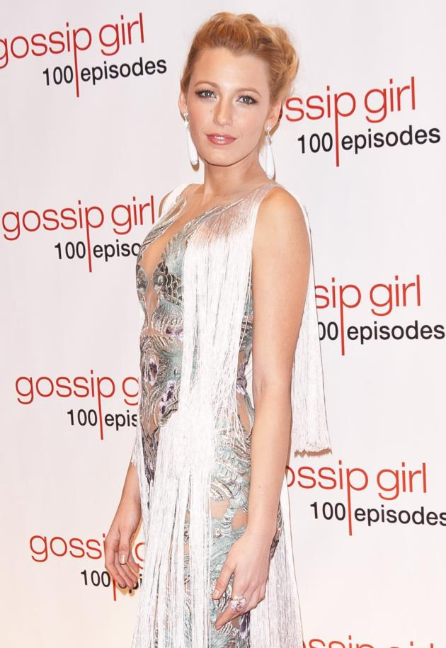Blake Lively at Gossip Girl Party