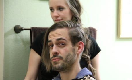 Derick Dillard Says Goodbye to His Long Locks