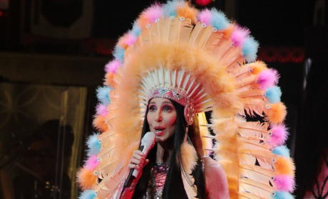Cher as Native American