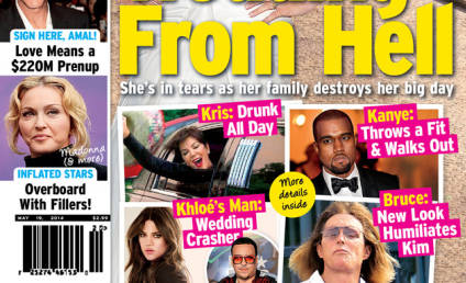 "Kim Kardashian Lashes Out at ""Super Lame"" Tabloid Cover"