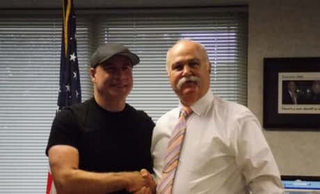 John Travolta Meets Sheriff