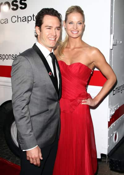 Mark-Paul Gosselaar and Wife