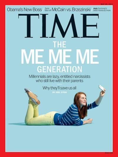 Time Millennials Cover