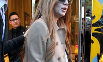 Lindsay Lohan Hit-and-Run Witness: NO Grazing!