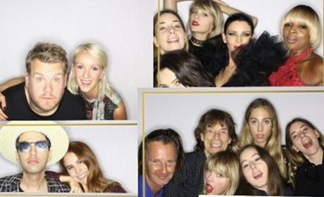 Taylor Swift in a Photo Booth