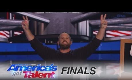Jon Dorenbos: America's Got Talent Finale Trick