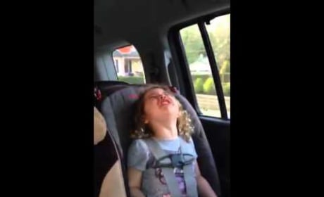 Little Girl Has Epic Meltdown: I Don't Want Another Brother!!