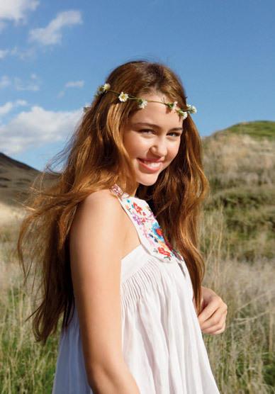 Miley the Hippie