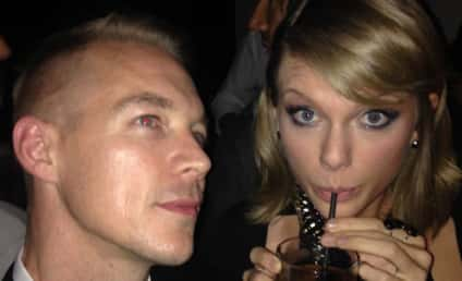 Taylor Swift Hangs With Diplo at the Grammys: What Feud?!?