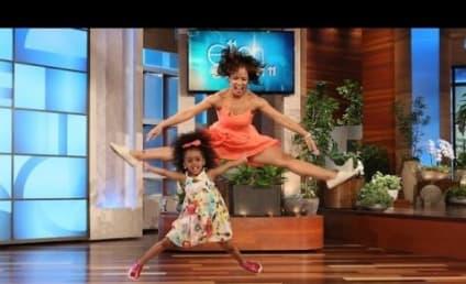 "Totally Adorable Toddler Dances to ""Happy"" on Ellen"