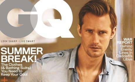 Alexander Skarsgard on GQ