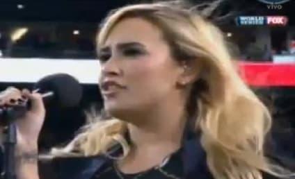 Demi Lovato National Anthem Performance: Grade It!