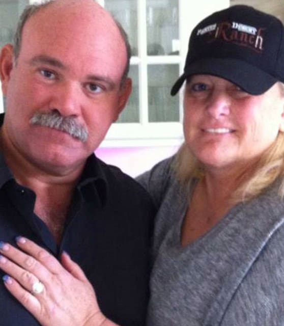 Debbie Rowe and Marc Schaffel
